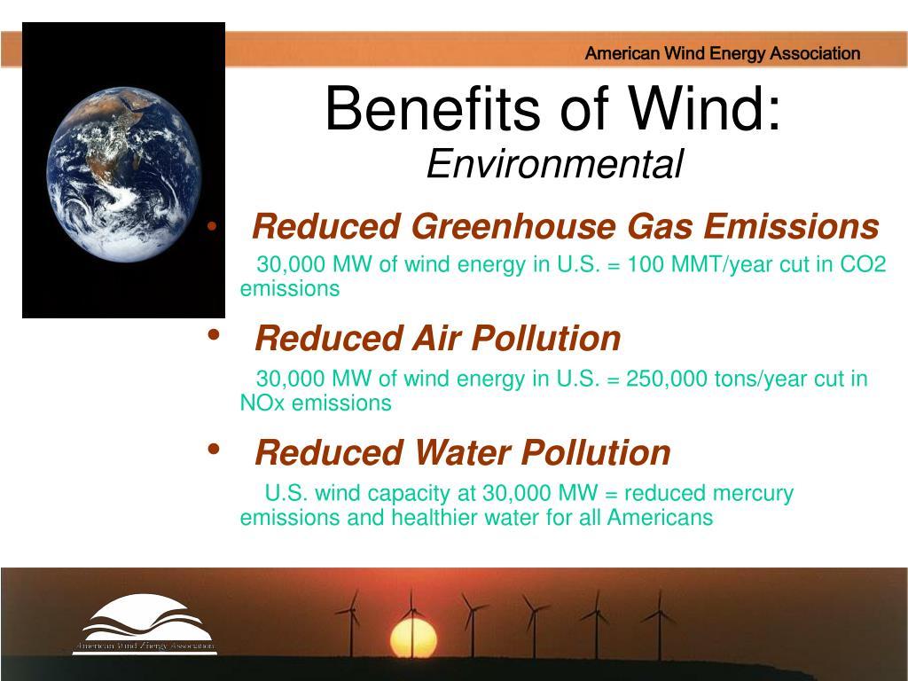 Benefits of Wind: