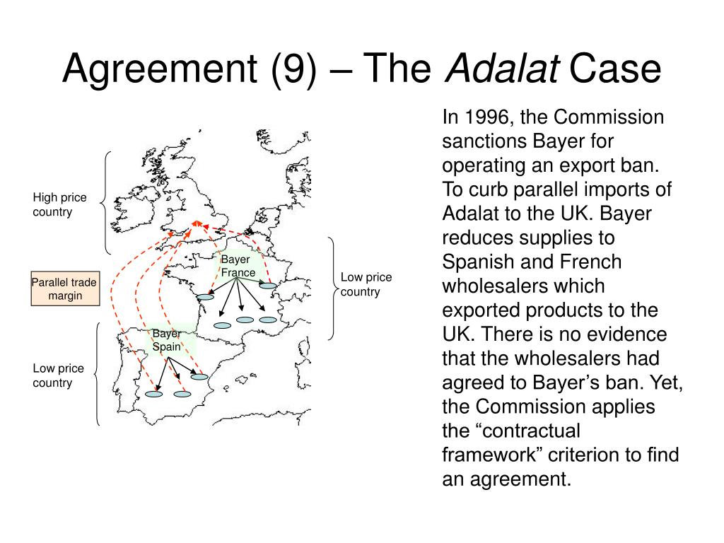 Agreement (9) – The