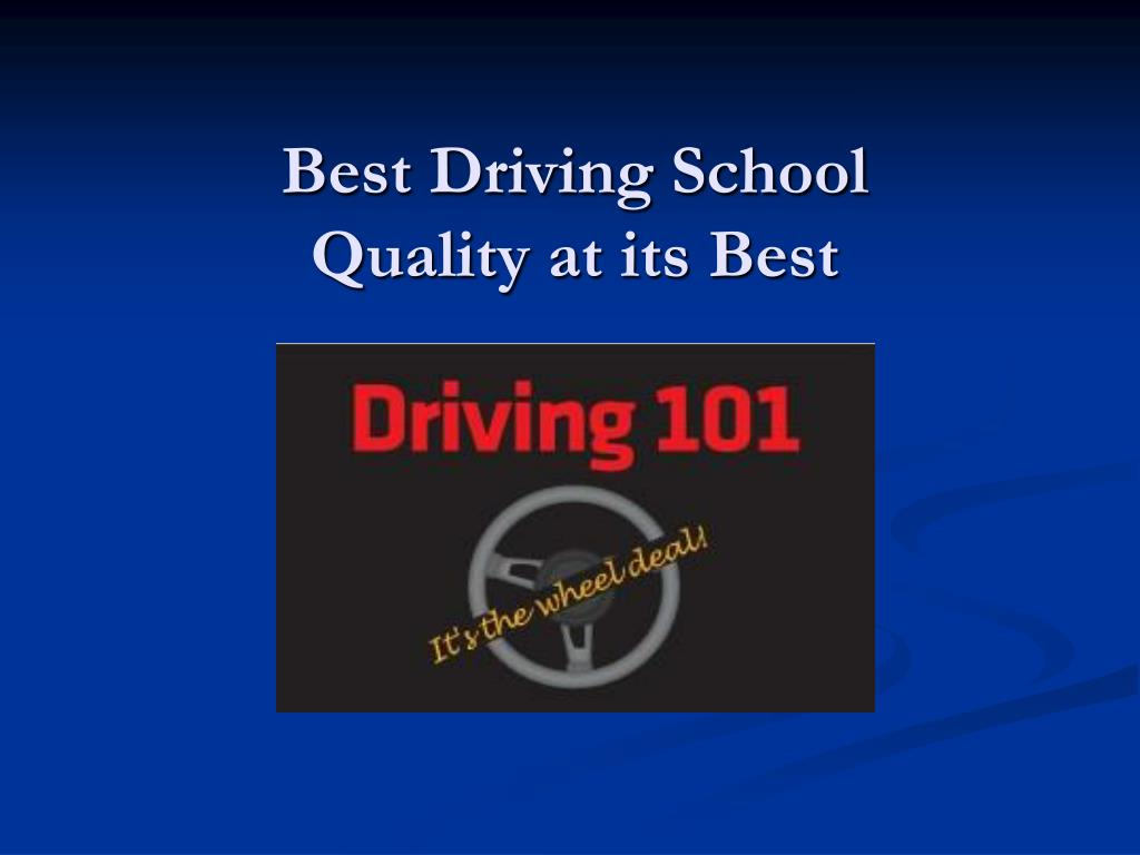 best driving school quality at its best l.