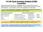 1 6 life cycle inventory analysis lcia in practice