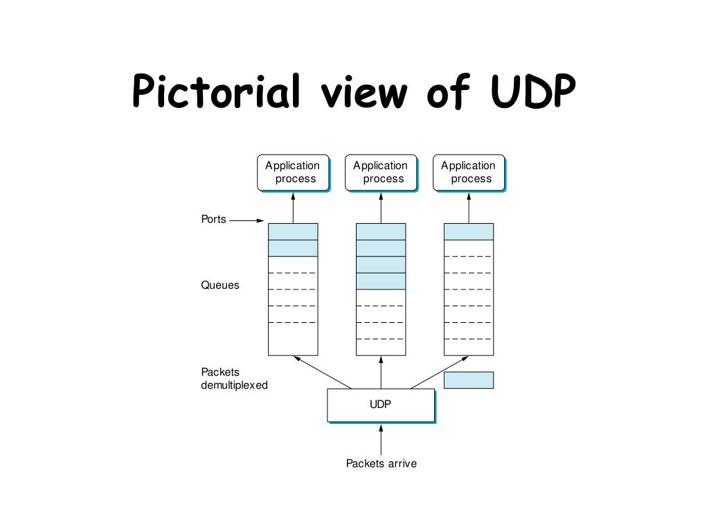 Pictorial view of UDP