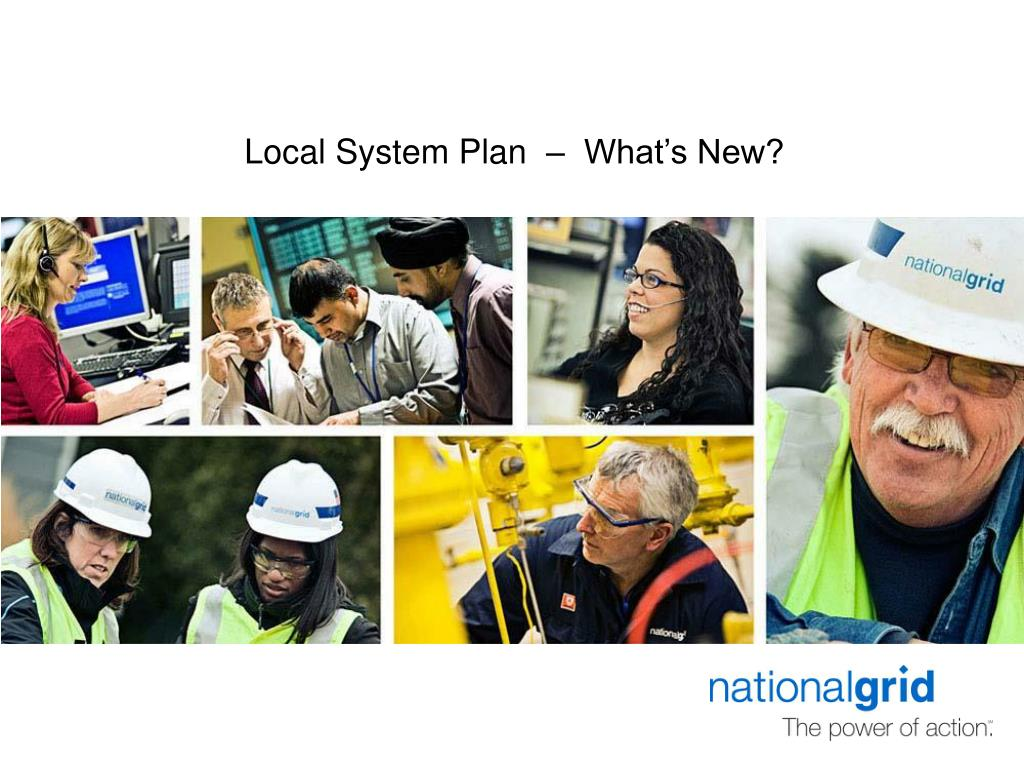 Local System Plan  –  What's New?
