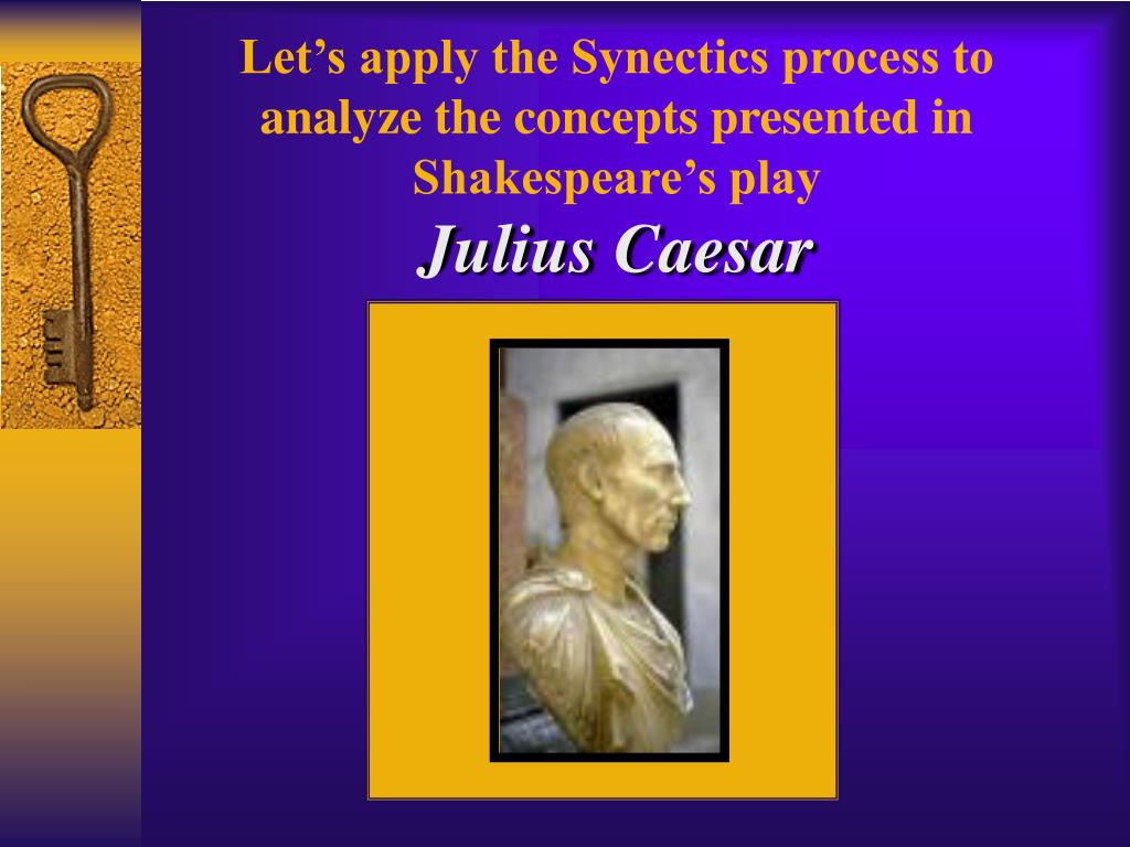 Let's apply the Synectics process to analyze the concepts presented in
