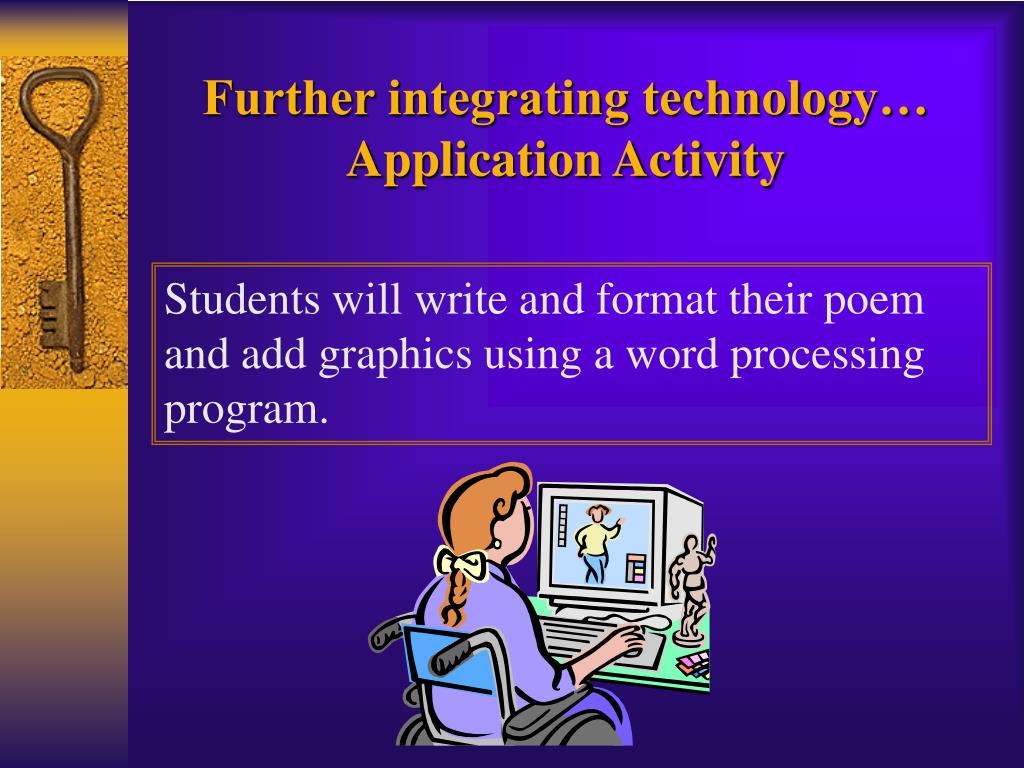 Further integrating technology…
