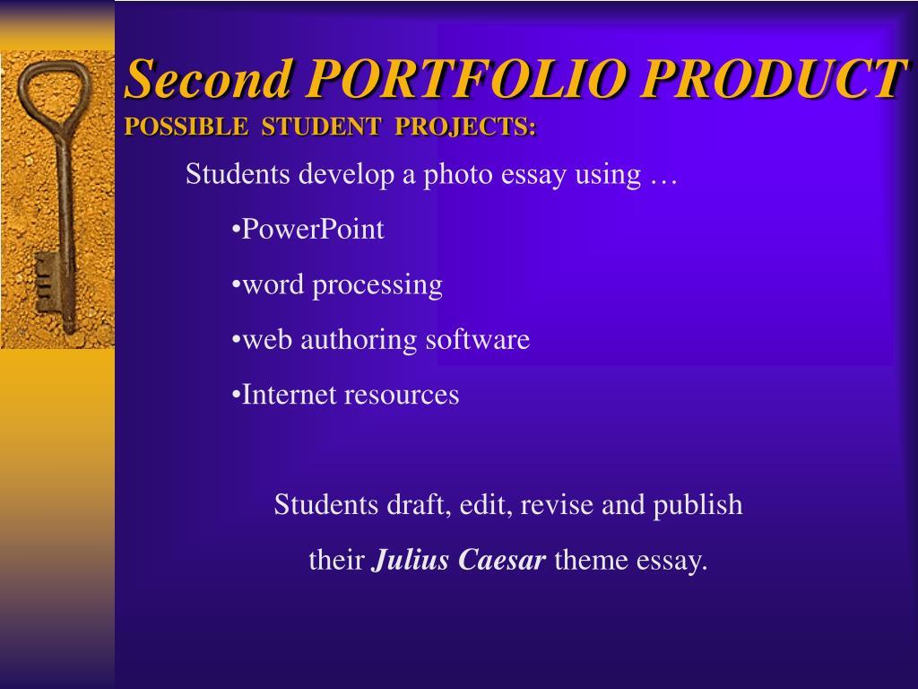 Second PORTFOLIO PRODUCT