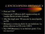 l enciclopedia britannica