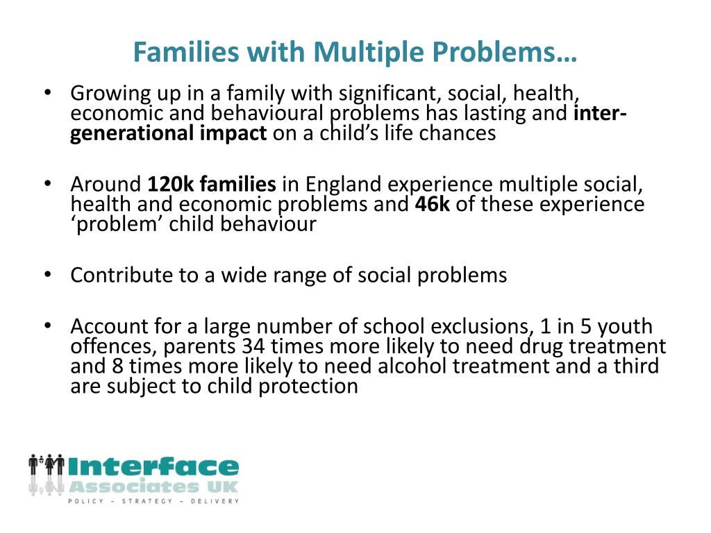 Families with Multiple Problems…