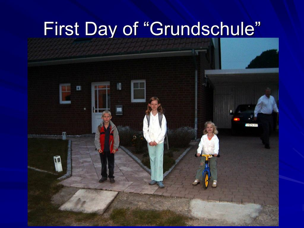 """First Day of """"Grundschule"""""""