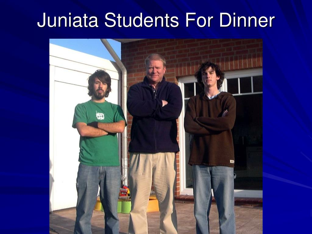Juniata Students For Dinner