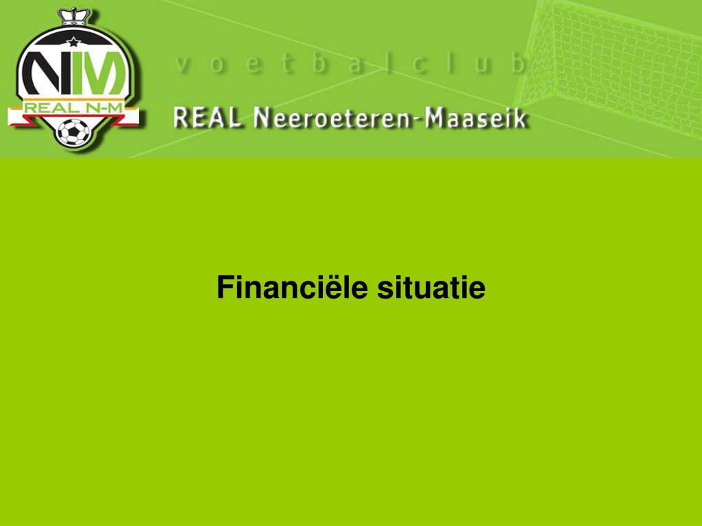 Financiële situatie