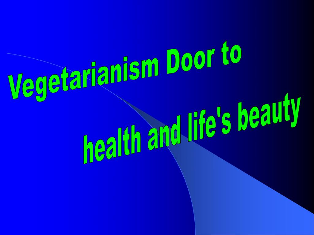 Vegetarianism Door to