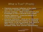 what is true proofs