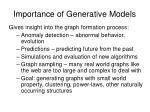 importance of generative models