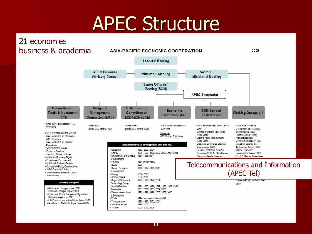 APEC Structure