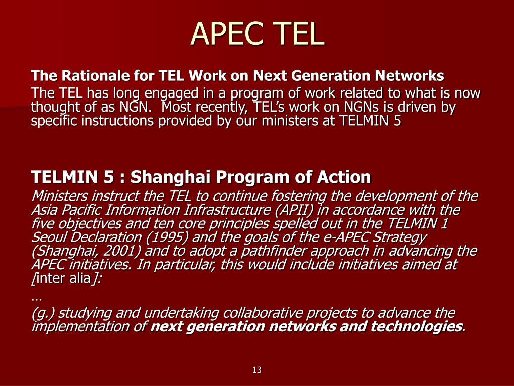 APEC TEL
