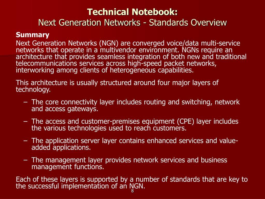 Technical Notebook: