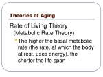 theories of aging14