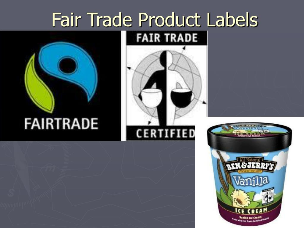 Fair Trade Product Labels