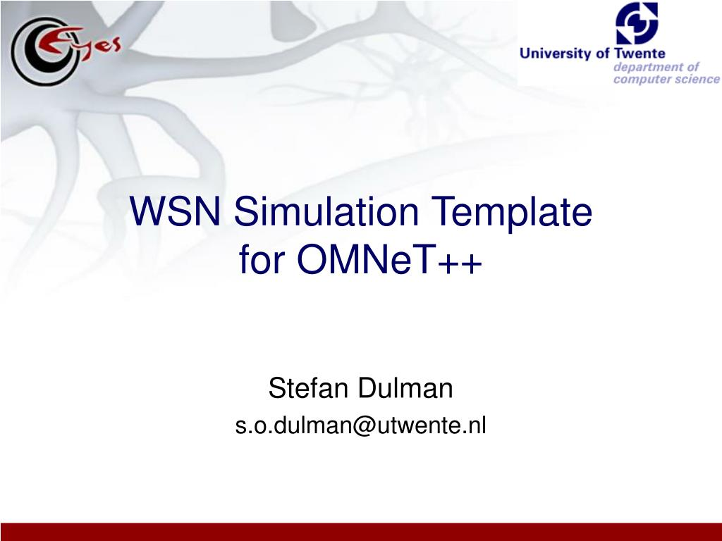 wsn simulation template for omnet l.