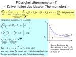 fl ssigkeitsthermometer 4 zeitverhalten des idealen thermometers