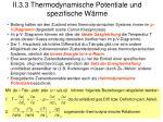ii 3 3 thermodynamische potentiale und spezifische w rme