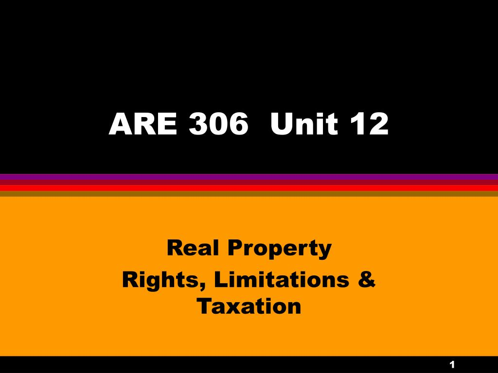 are 306 unit 12