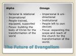 the future of evangelism