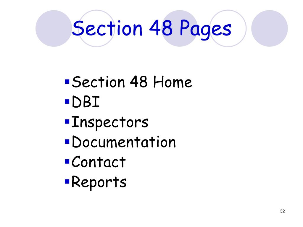 Section 48 Pages