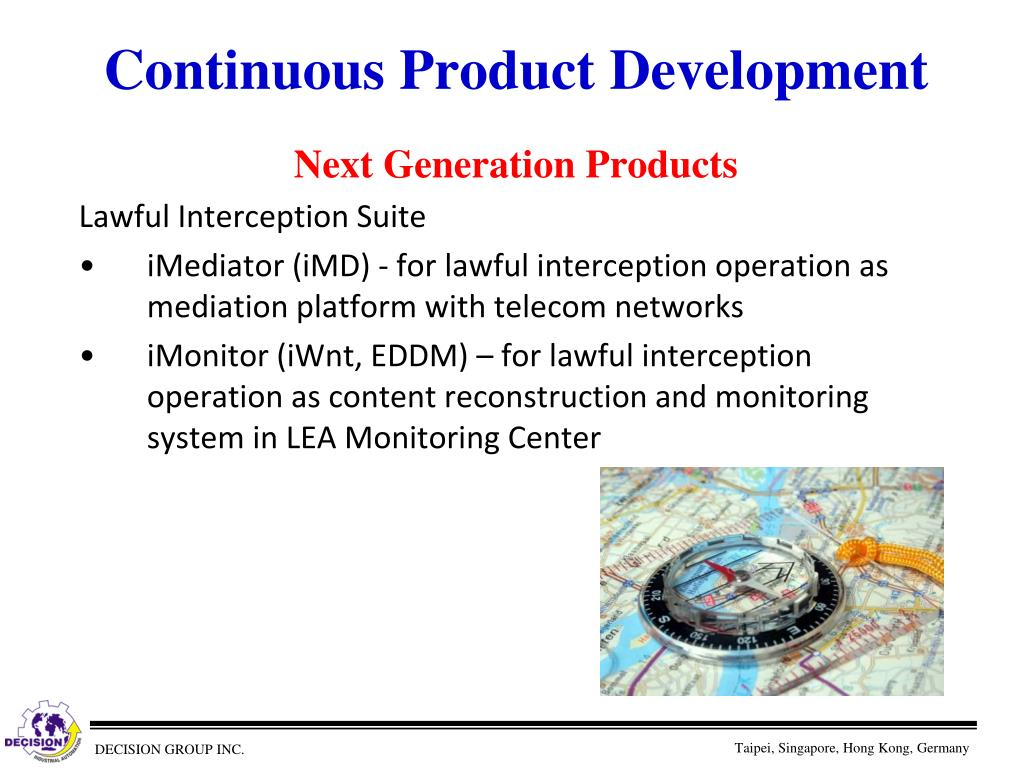 Continuous Product Development