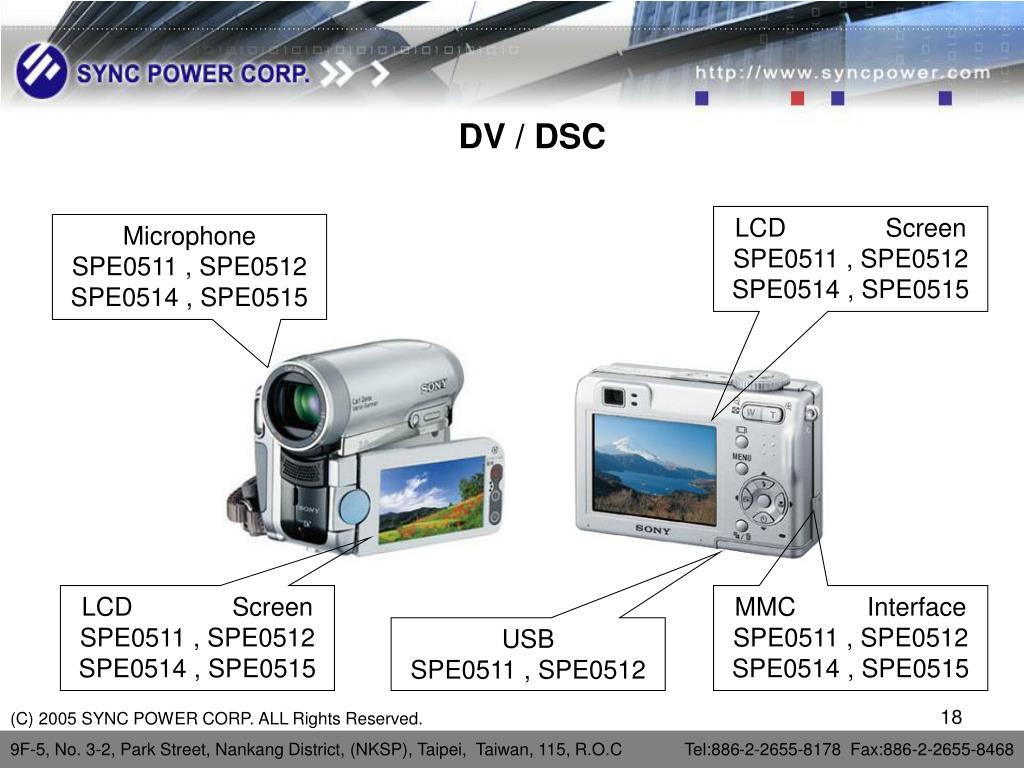 DV / DSC