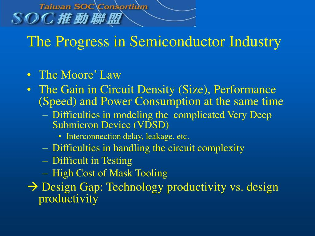 The Progress in Semiconductor Industry