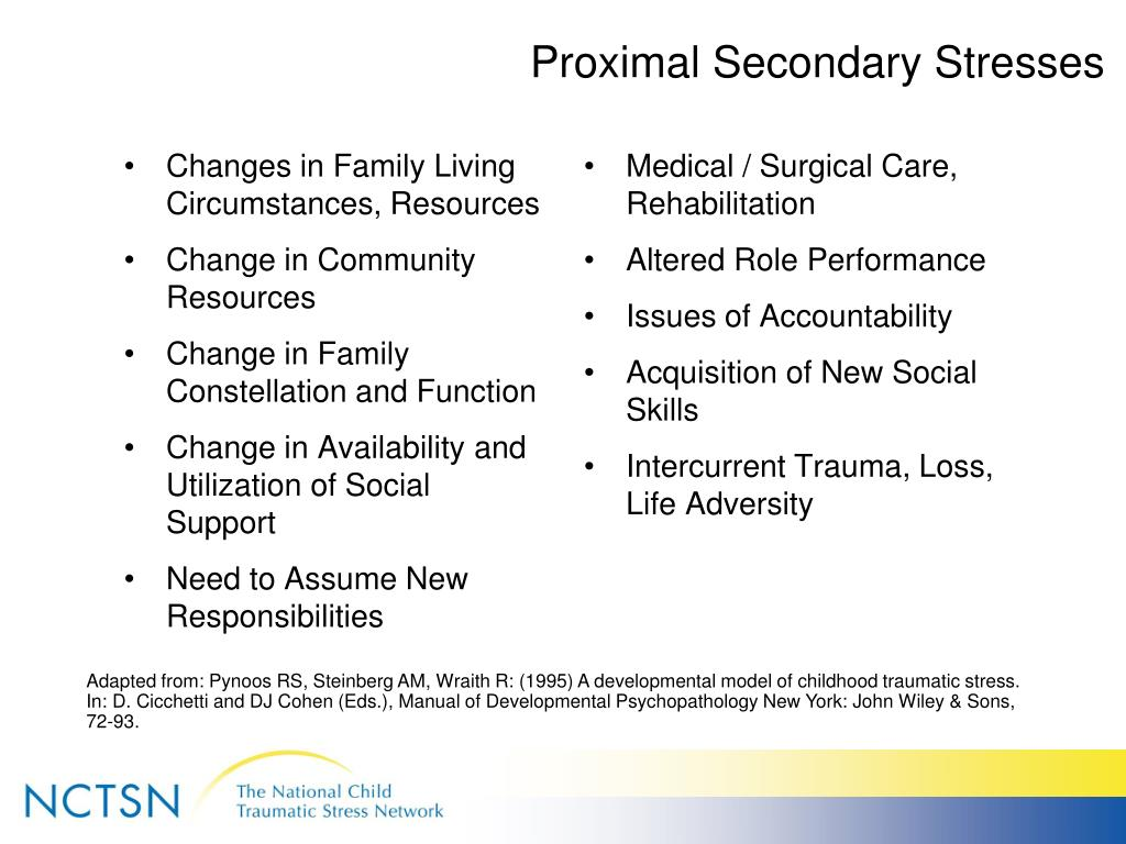 Proximal Secondary Stresses