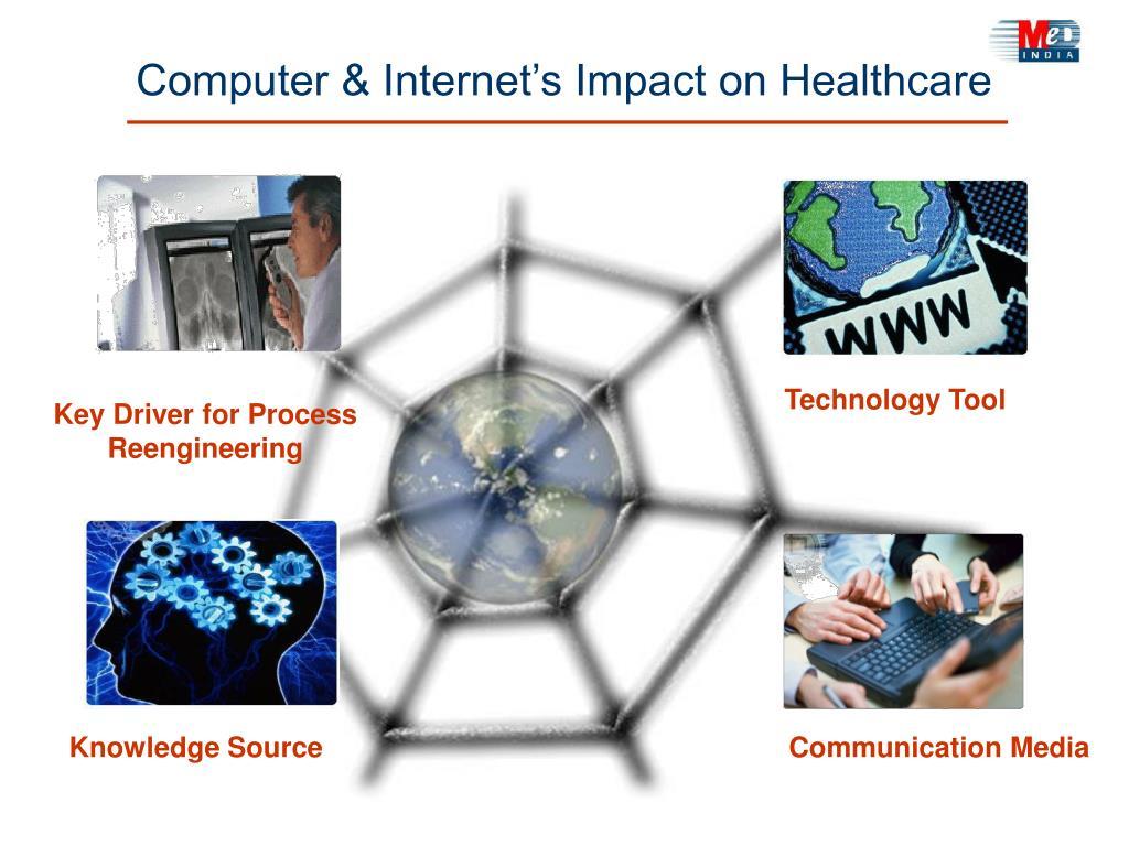 Computer & Internet's Impact on Healthcare