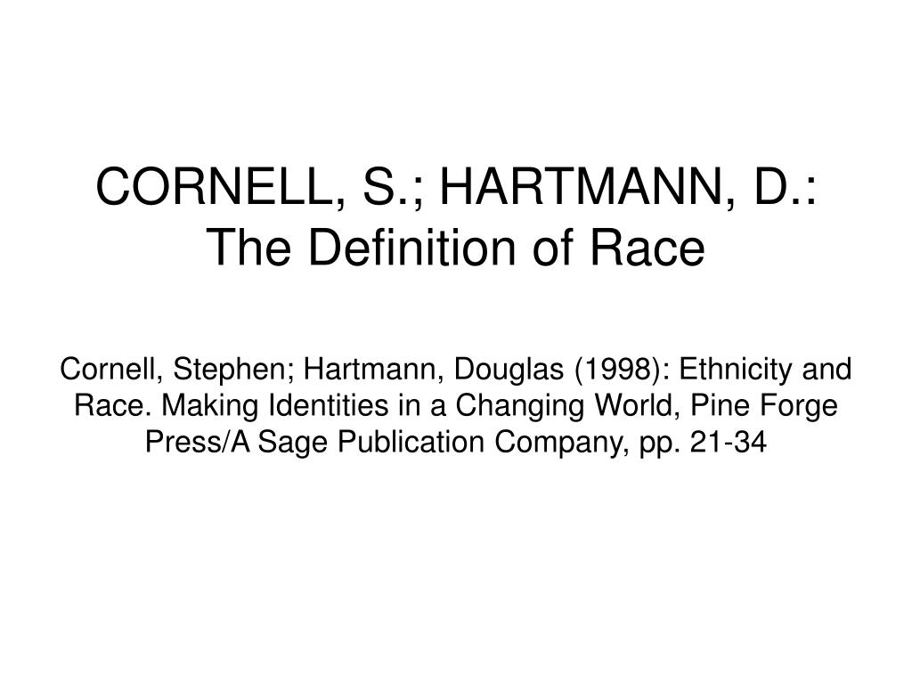 the social construction of race ethnicity Those of us who study racial and ethnic relations in the united states recognize  that race is a social construction what race means, the.