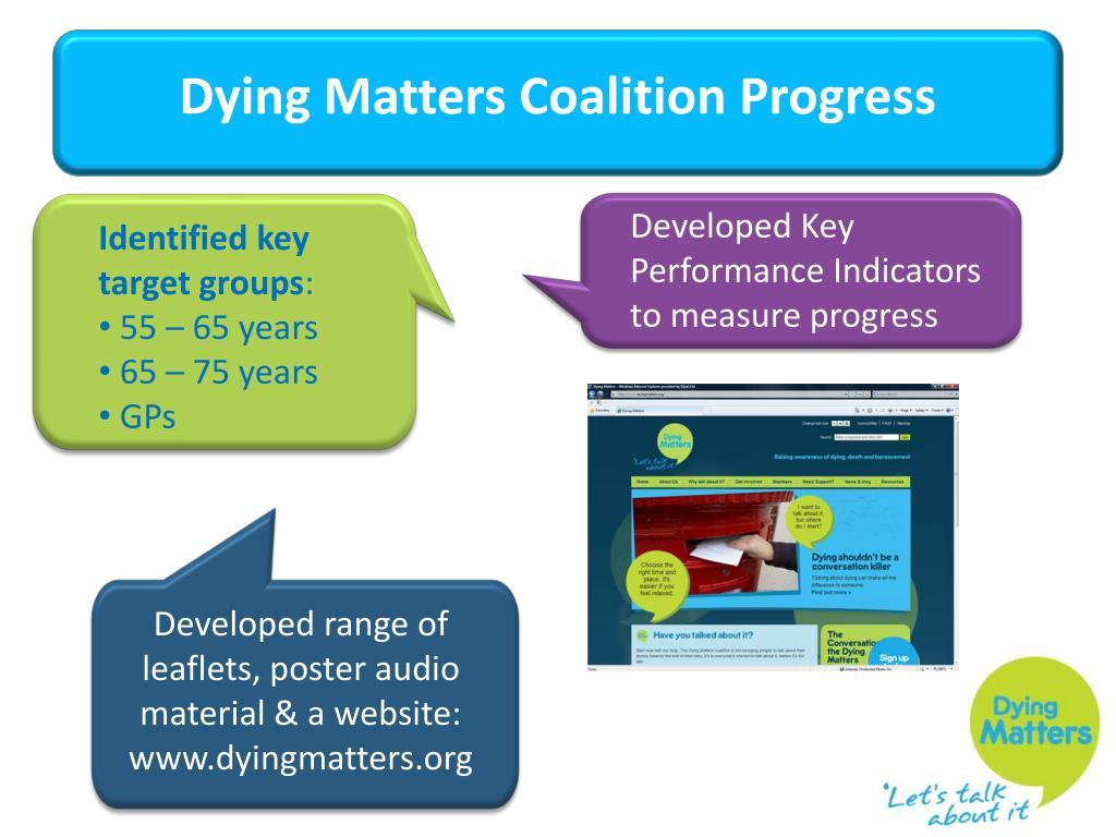 Developed Key Performance Indicators to measure progress