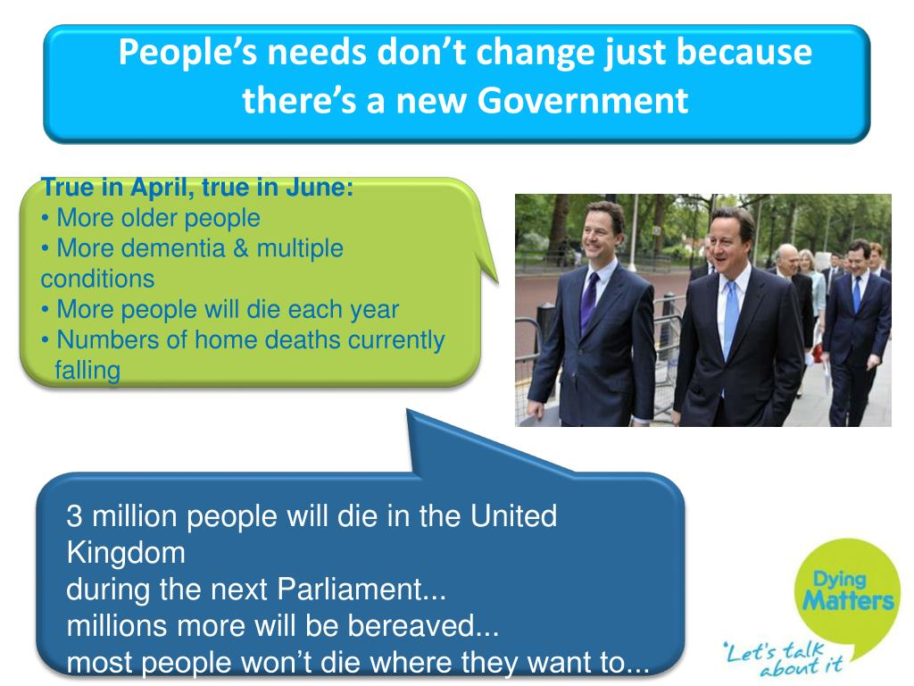 3 million people will die in the United Kingdom