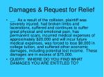damages request for relief