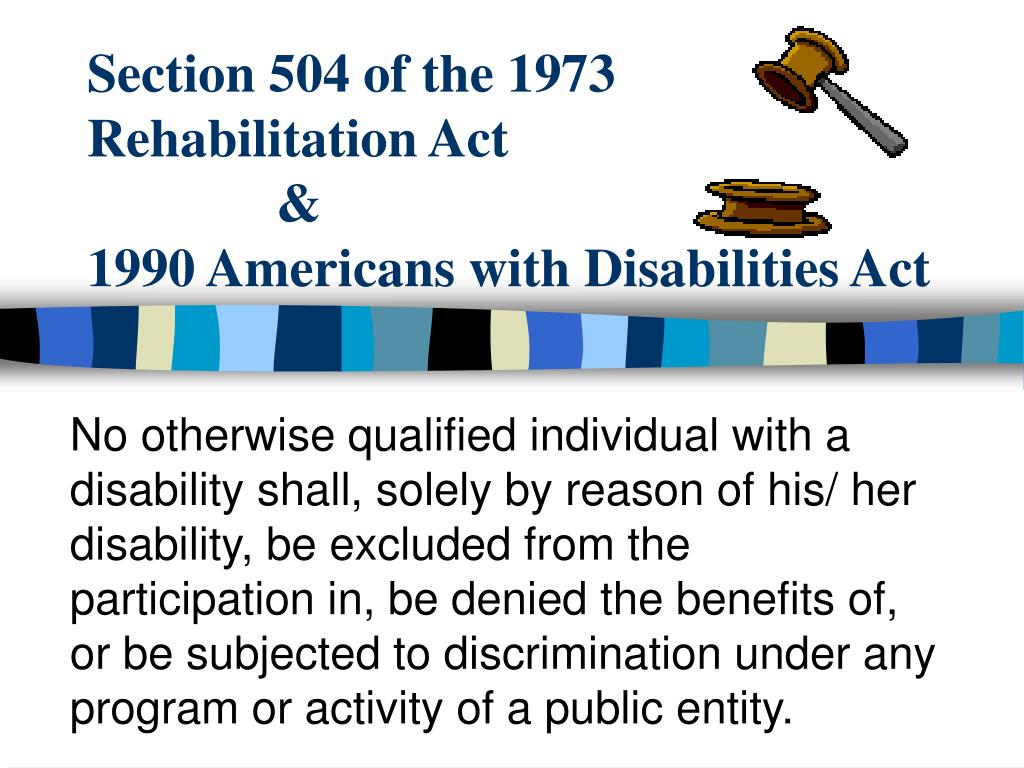 Section 504 of the 1973