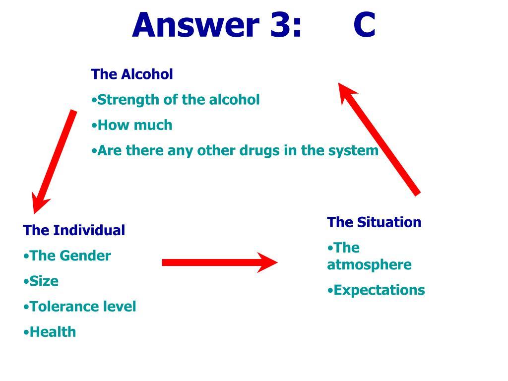 Answer 3:     C