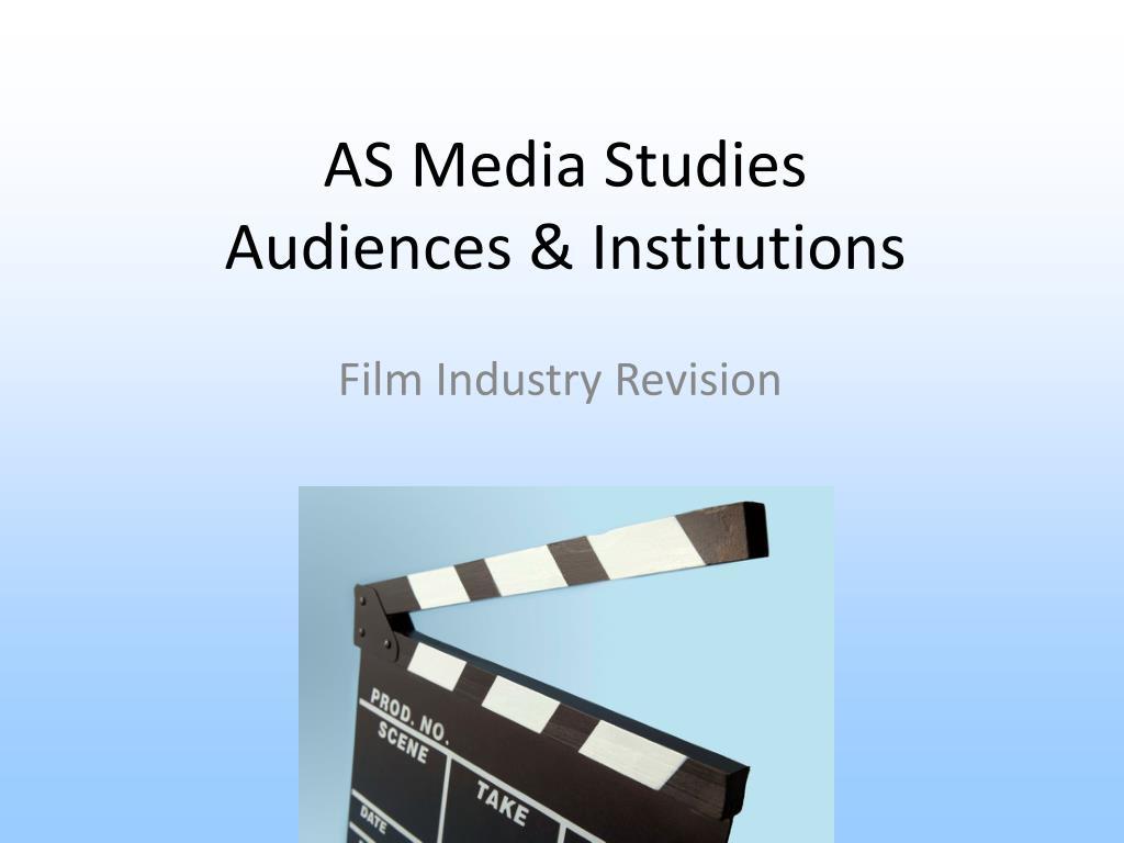 as media studies audiences institutions l.