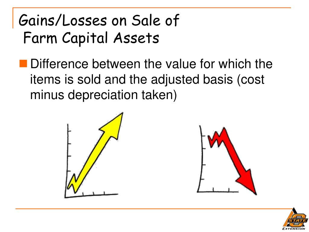 Gains/Losses on Sale of