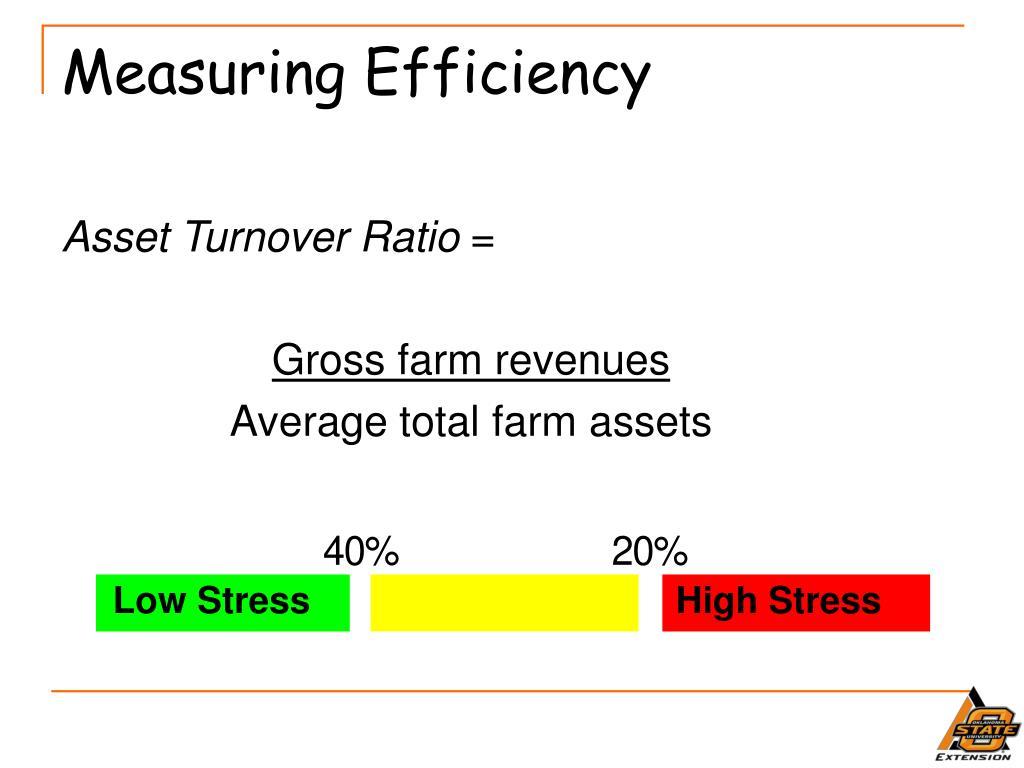 Measuring Efficiency