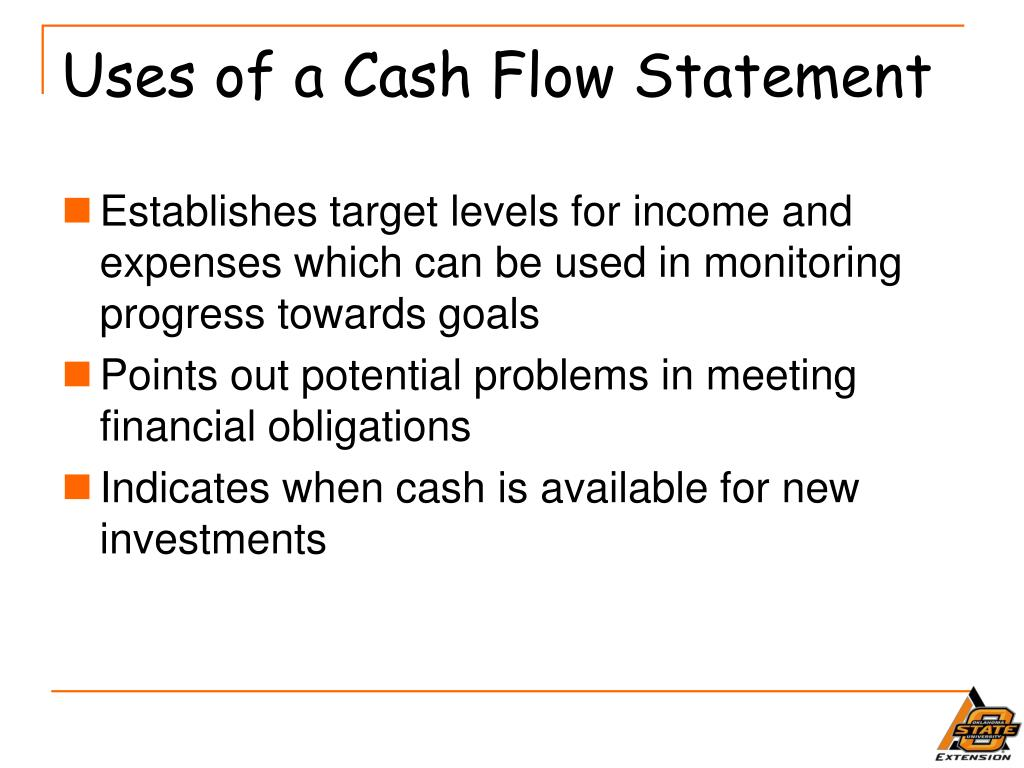 Uses of a Cash Flow Statement