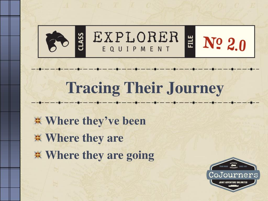 Tracing Their Journey