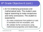 6 th grade objective 6 cont59
