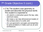 7 th grade objective 3 cont67