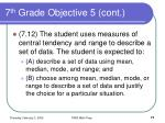 7 th grade objective 5 cont71