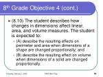 8 th grade objective 4 cont84