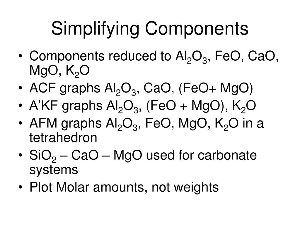 Simplifying Components