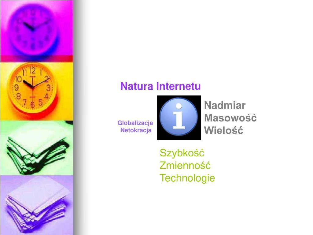 Natura Internetu